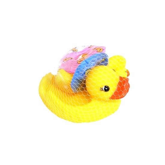 صورة ألعاب حمام ناعمة (متعدد الألوان) - مجموعة من 4 حيوانات