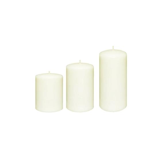 صورة شمع غير معطر- 6 × 10, 6 × 8, 6 × 6 سم