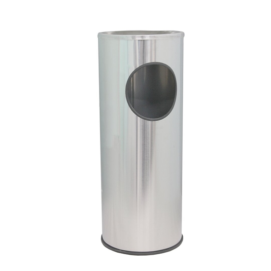 Picture of Stainless Steel Waste Bin - 24 x 60 Cm