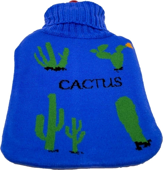 Picture of Covered Hot Water Bottle, 500 ml - 35 x 19 Cm