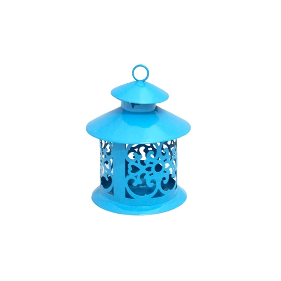 Picture of Iron Lantern Candle Holder - 11 x 9 Cm