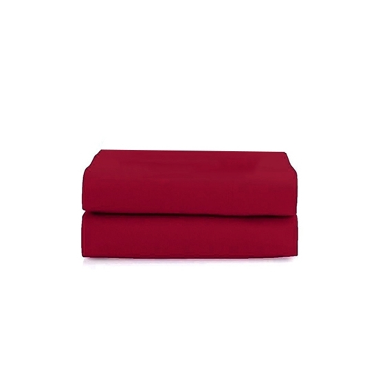 Picture of King - Cotton & Polyester Red Duvet Cover - 260 x 220 Cm
