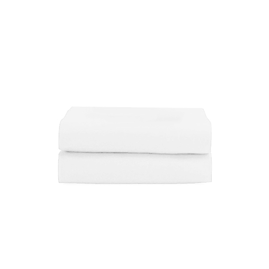 Picture of King - Cotton & Polyester White Duvet Cover - 260 x 220 Cm