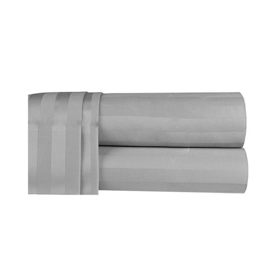 Picture of King - 100% Cotton Light Grey Duvet Cover - 260 x 220 Cm