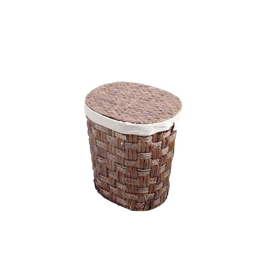 Picture of Laundry Basket with Lid - 27 x 27 x 43 Cm