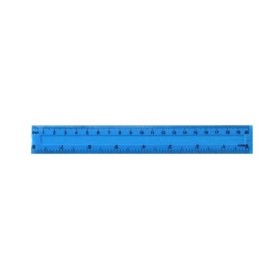 Picture of Plastic Ruler - 20 Cm