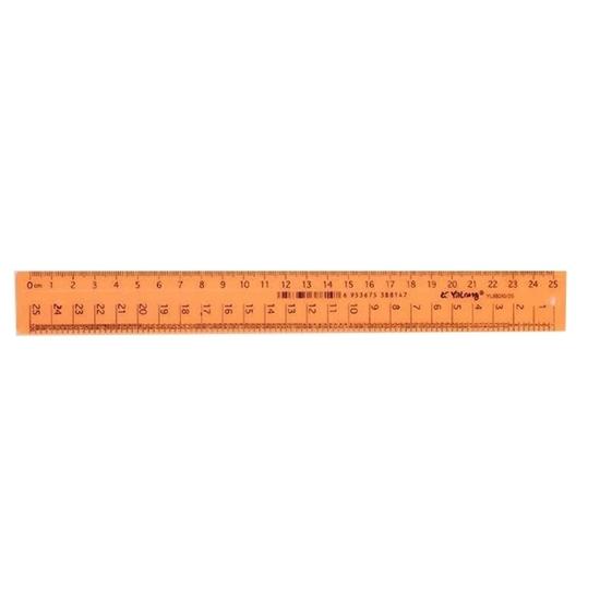 Picture of Plastic Ruler - 25 Cm