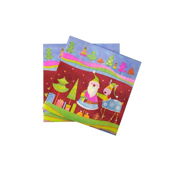 Picture of XMAS NAPKIN 20PCS 881-2