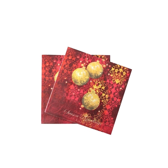 Picture of XMAS NAPKIN 20PCS 881-5