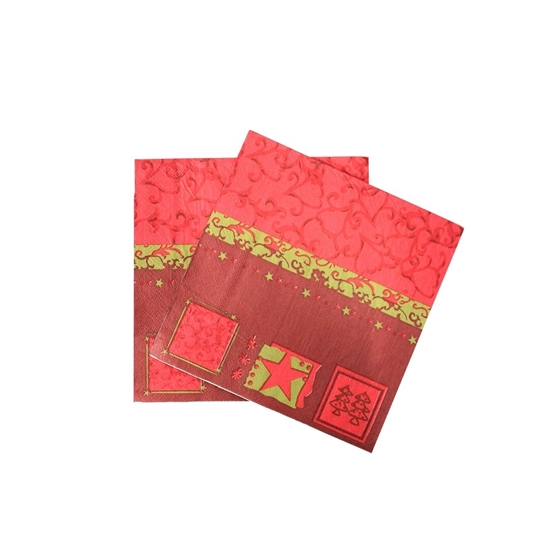 Picture of XMAS NAPKIN 20PCS 881-10
