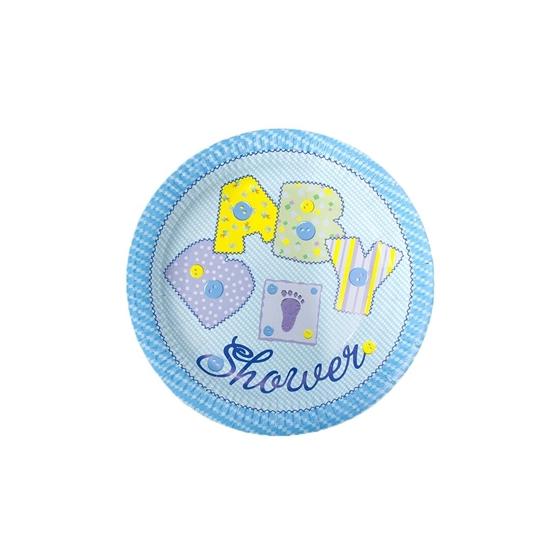 صورة Baby Shower Paper Plate PAPER PLATE
