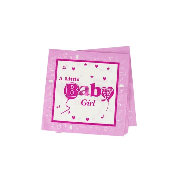 صورة Baby Girl Napkins