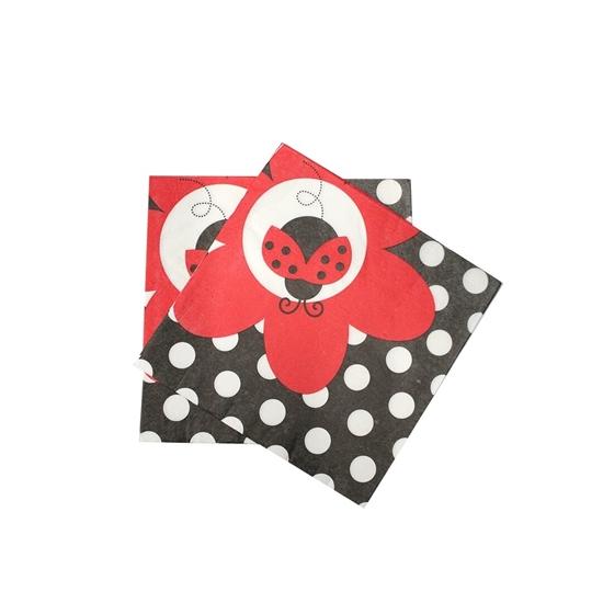 Picture of Ladybird Arabisc Napkin Pcs Bag 10PCS/BAG