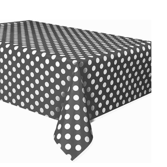 صورة Polka Table Cloth Cm 108 x 180 CM