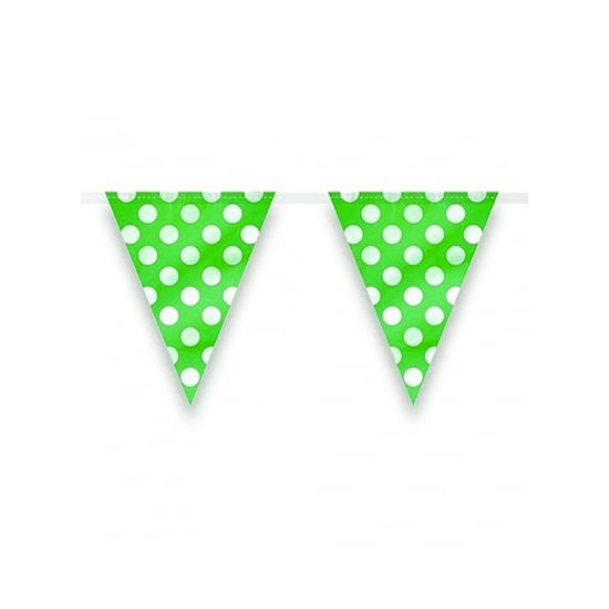 صورة Polka Dot Party Flag PARTY FLAG