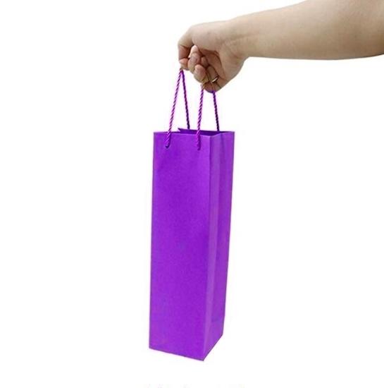 صورة حقيبة هدايا بألوان متعددة  قياس 12.8 × 36 × 8.4 سم
