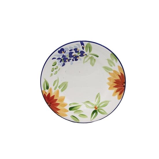 Picture of Colored Ceramic Plate - 21 Cm