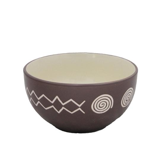 Picture of Colored Ceramic Bowl - 15 x 7 Cm