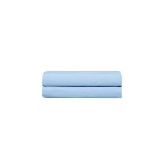 صورة كيسا وسادة  من  القطن والبوليستر - 76 × 51 سم - أزرق