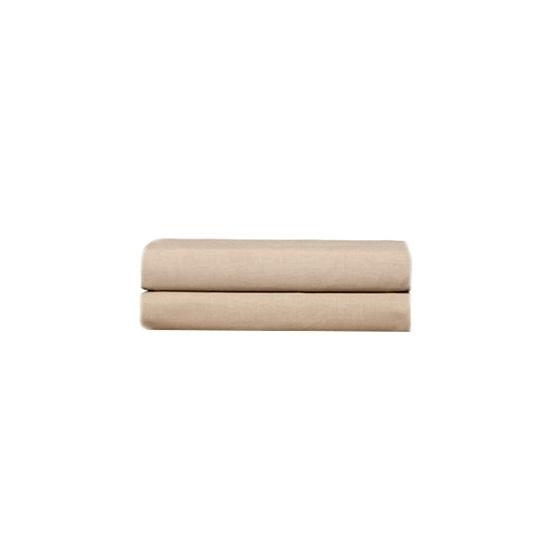 صورة كيسا وسادة  من  القطن والبوليستر - 76 × 51 سم - بيج