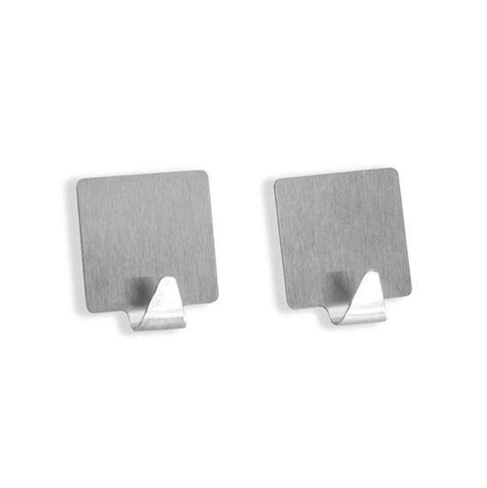 Picture of Self-adhesive hooks, 2pcs - 5 x 5 Cm