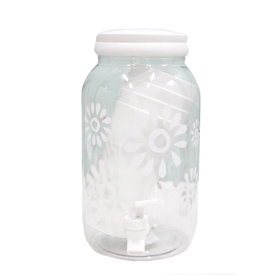 Picture of Plastic Beverage Dispenser, (1 Jar, 4 Cups) - 27 x 13 Cm