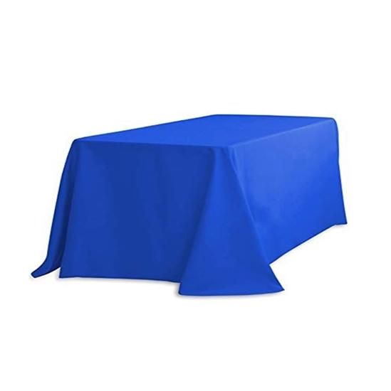 صورة Disposable Plastic Tablecloth - 140 x 230 Cm