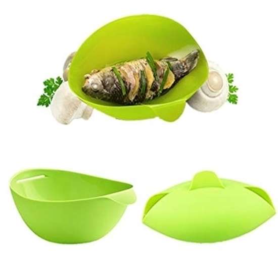 Picture of Silicone Steamer Bowl - 29 x 19 x 8 Cm