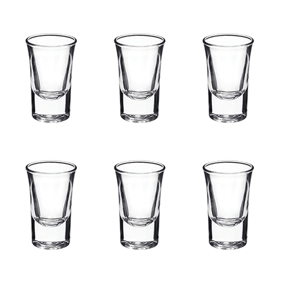 Picture of DRINKING GLASS 90ml 6PCS/BOX