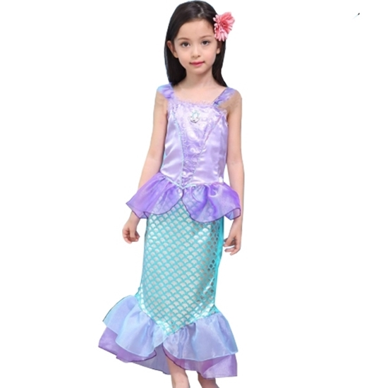 Picture of MERMAID COSTUME Small: 110 cm / Medium: 120 cm / Large: 130 cm