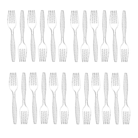 صورة Plastic Forks - 18 PCs