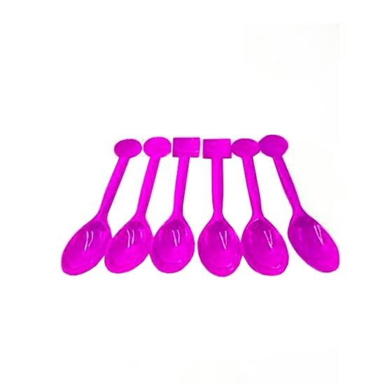 صورة Plastic Spoons, 10 PCs - 15 x 3 Cm
