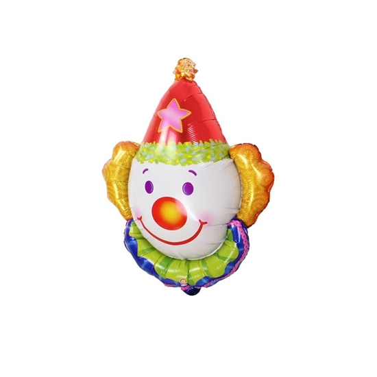 Picture of Clown Foil Balloon Kids Birthday Party Gift 64 x 79 cm
