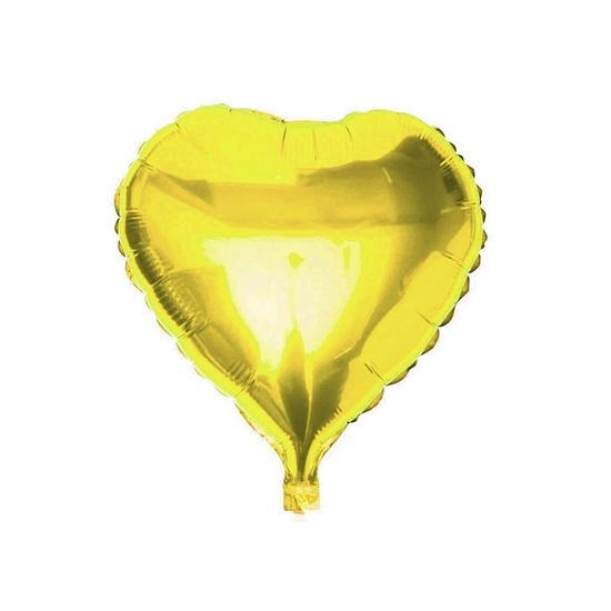 صورة بالون الهيليوم شكل قلب - 45.72 سم