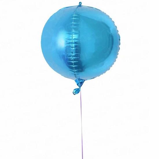 صورة بالون الهيليوم شكل مكعب كرات - 55.88 سم