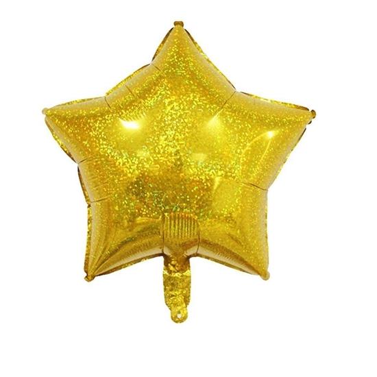 صورة بالون الهيليوم شكل نجمة - 45.72 سم