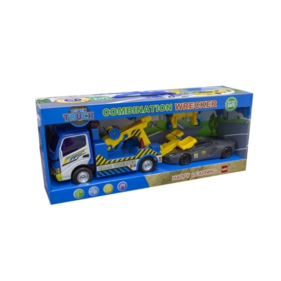 Picture of Two Truck Set (1pcs Truck + 1pc Smaller Cars) - 43 x 12 x 14 Cm