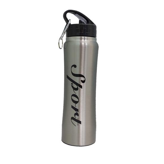 صورة زجاجة ترمس معزولة بالفولاذ المقاوم للصدأ - 750 مل - 26 × 8 سم