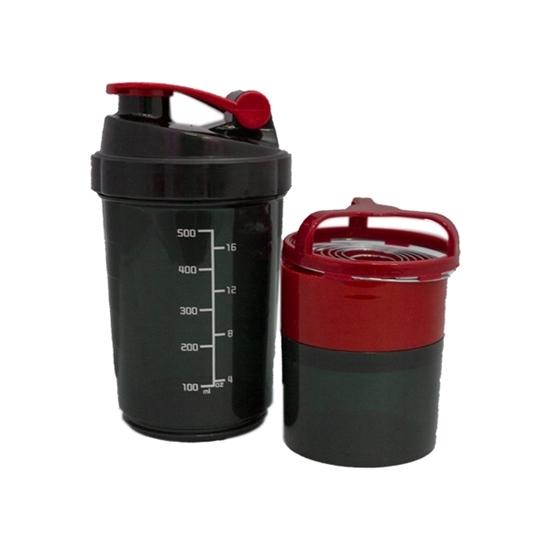 صورة زجاجة مياه رياضية من البلاستيك  - 17 × 10 سم