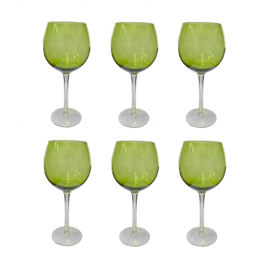 Picture of Glassware with Beautiful Stem - 8 x 22 Cm