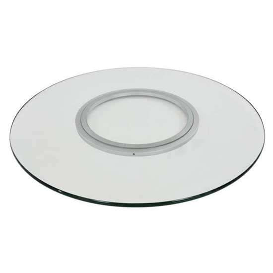 صورة Round Glass Lazy Susan - 80 Cm