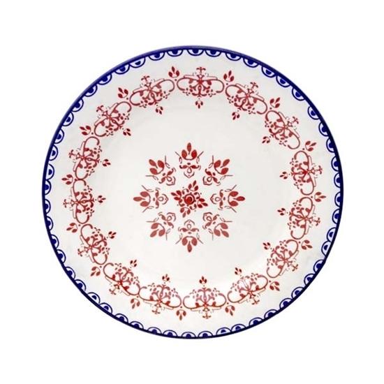 Picture of Colored Ceramic Plate - 27 Cm