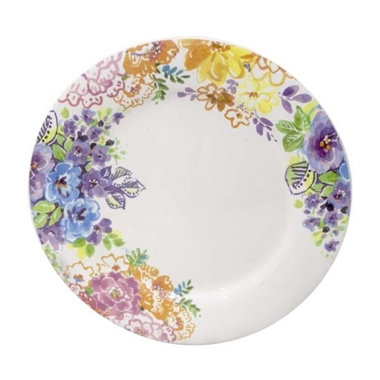 صورة Colored Ceramic Plate - 27 Cm