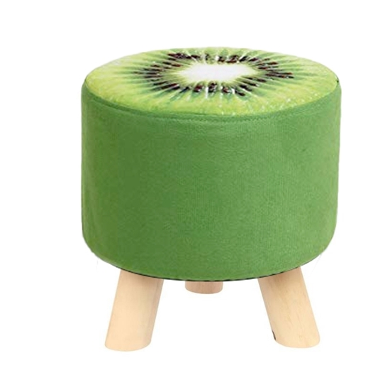 Picture of Wooden Kiwi Footstool - 38 x 34 Cm