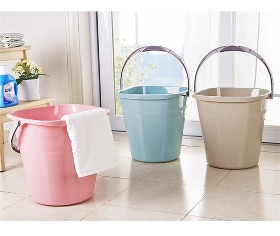 صورة Plastic Trash Can Wastebasket - 32 x 31 Cm