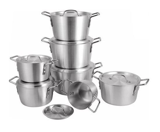 Picture of 7pcs/set Thick Aluminum pot set multi-purpose pot soup pot cookware set panela cooking tool