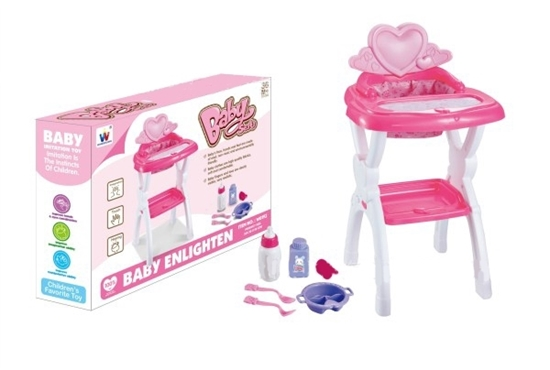 Picture of Doll Highchair - 32 x 30 x 58 Cm