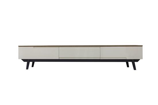 صورة TV Stand in Brown & Beige - W40 x L200 x H40 Cm