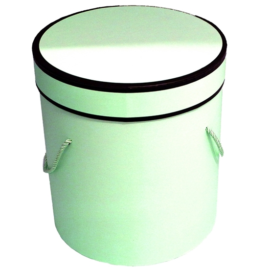 Picture of Green Cylinder Gift Box - 25 x 24 Cm