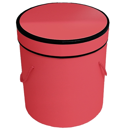 Picture of Red Cylinder Gift Box - 25 x 24 Cm